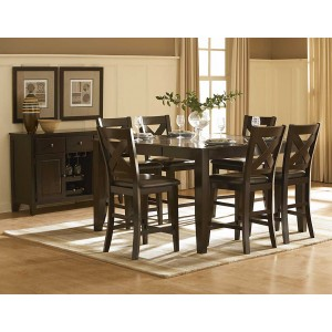 Crown Point Classic Counter Dining Room Set by Homelegance