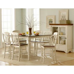 Ohana Country Counter Dining Room Set by Homelegance
