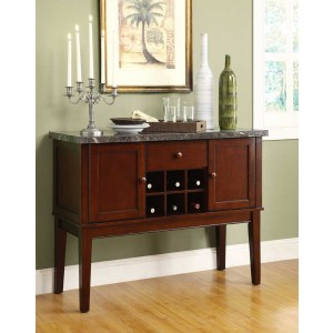 Decatur Transitional Wood Buffet by Homelegance