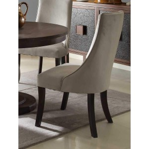 Dandelion Transitional Fabric/Wood Dining Chair by Homelegance