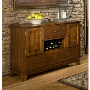 Marcel Classic Wood Buffet by Homelegance