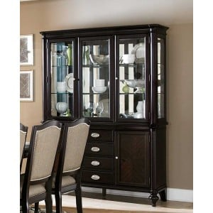 Marston Classic Glass/Wood China Cabinet