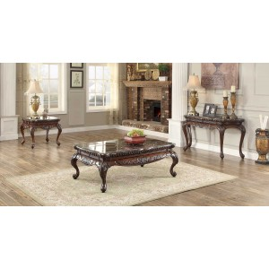 Mariacarla Marble  Occasional Table Set by Homelegance
