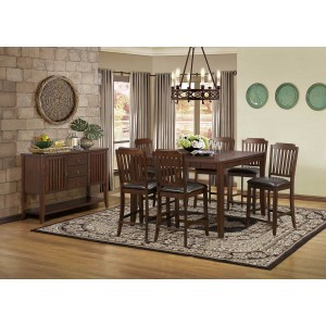 Dickens Transitional Counter Dining Room Set by Homelegance