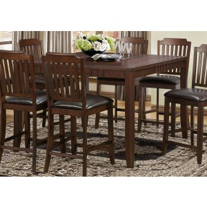Dickens Transitional Counter Dining Table by Homelegance