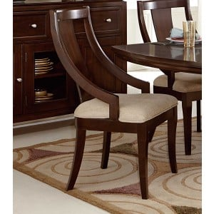 Aubriella Classic Fabric/Wood Dining Chair by Homelegance