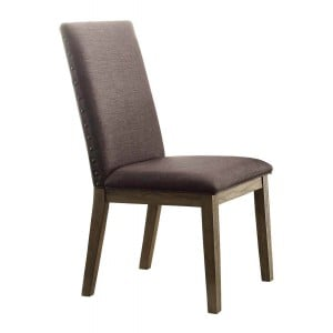 Anna Claire Transitional Fabric/Wood Claire Dining Chair by Homelegance