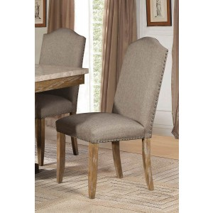 Jemez Rustic Fabric/Wood Dining Chair by Homelegance