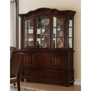 Lordsburg Glass/Wood China Cabinet by Homelegance