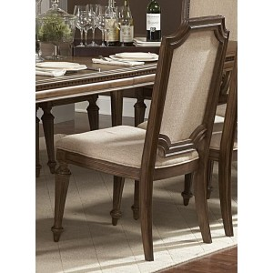 Eastover Classic Fabric/Wood Dining Chair by Homelegance