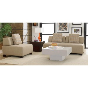 Darby Fabric Living Room Set by Homelegance