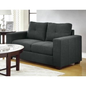 Ashmont Fabric Loveseat by Homelegance
