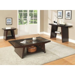 Cullum Glass Occasional Table Set by Homelegance