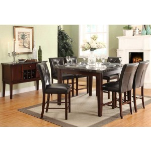 Decatur Transitional Counter Dining Room Set by Homelegance