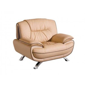 405 Leather/Eco-Leather Chair by ESF Furniture