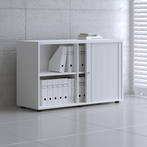 Standard A2L06 Low Tambour Storage Cabinet by MDD Office Furniture