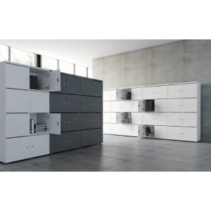 Standard Locker Storage Cabinet by MDD Office Furniture