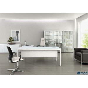 Impuls Executive Composition 3, White by MDD Office Furniture