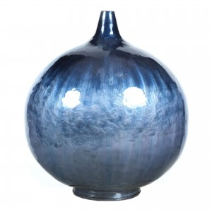 Abaco Iron Vase by MOE'S