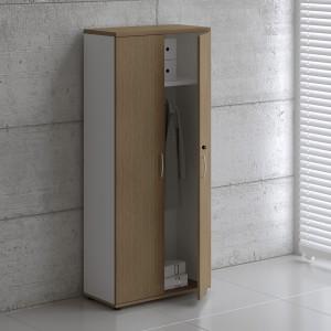 Basic K5204 Office Wardrobe w/2 Doors by MDD Office Furniture