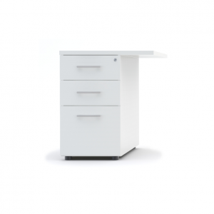 Standard Stationary Pedestal w/3 Drawers by MDD Office Furniture