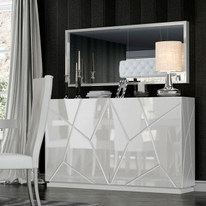 Kiu Modern 2-Door Buffet by Franco Furniture
