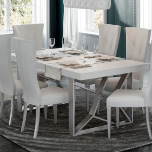 Kiu Modern Rectangular Dining Table by Franco Furniture