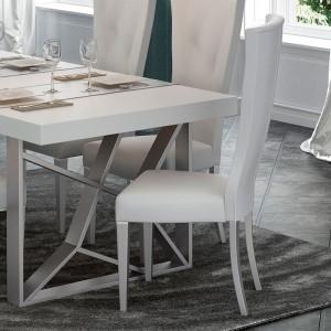 Kiu Modern Fabric Dining Chair by Franco Furniture