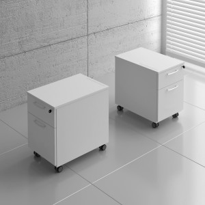 Basic Mobile Pedestal w/File Drawer by MDD Office Furniture