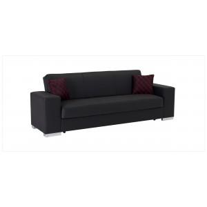 Kobe Sofa Escudo Black by Sunset (Istikbal) Furniture
