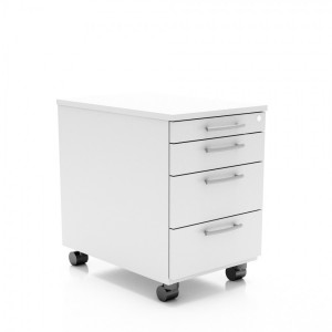 Standard Mobile Pedestal w/4 Drawers by MDD Office Furniture