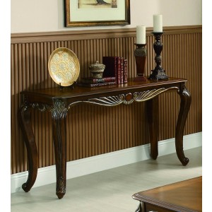 Lambeth II Wood Console Table by Homelegance