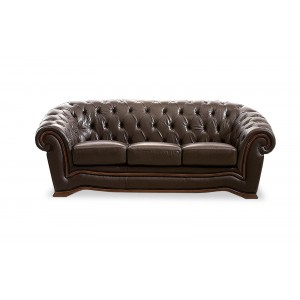 262 Leather Sofa by ESF Furniture