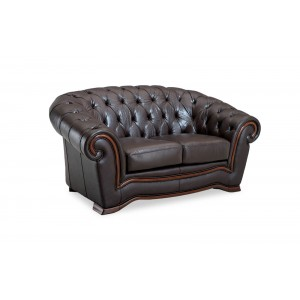 262 Leather Loveseat by ESF Furniture