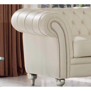 287 Leather/Eco-Leather Loveseat by ESF Furniture
