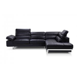 2347 Leather/Eco-Leather Sectional by ESF Furniture
