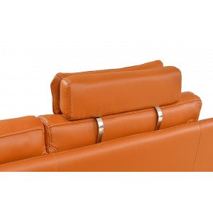 533 Leather/Eco-Leather Sectional by ESF Furniture