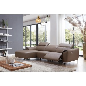 950 Leather/Eco-Leather Sectional by ESF Furniture