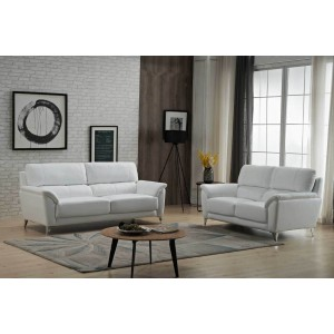 406 Leather/Eco-Leather Living Room Set by ESF Furniture