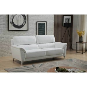 406 Leather/Eco-Leather Sofa by ESF Furniture