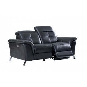2619 Leather/Eco-Leather Loveseat by ESF Furniture