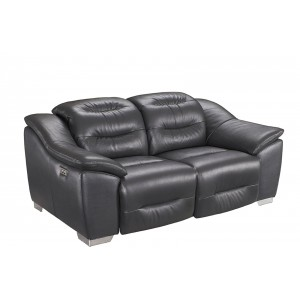 972 Leather/Eco-Leather Loveseat by ESF Furniture