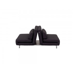 LK06-2 Premium Sofa Bed, Black by J&M Furniture