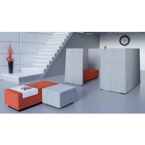 Jazz Silent Box with 5Acoustic Walls, MDF Legs by NARBUTAS