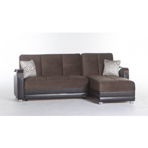 Luna Sectional, Right Arm Chaise Facing by Sunset International Trade