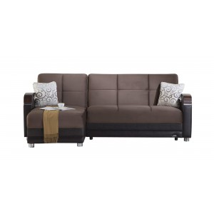 Luna Sectional, Left Arm Chaise Facing by Sunset International Trade