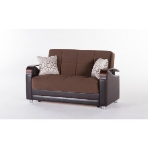 Luna Loveseat Fulya L. Brown by Sunset (Istikbal) Furniture