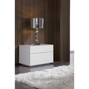 M100 Nightstand, White by Dupen Furniture, Spain