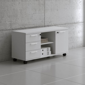 Standard A120ML Low Managerial Storage by MDD Office Furniture