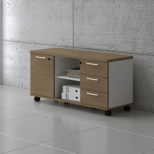 Standard A120MP Low Managerial Storage by MDD Office Furniture